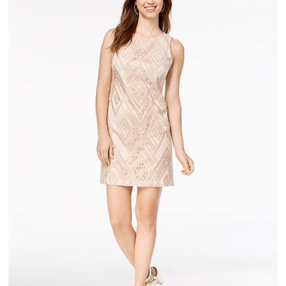 24810aa9e4b1 Vince Camuto Dresses | Sequin Sheath Dress | Poshmark